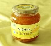 果茶 韓國蜂蜜椪柑茶 意蜂心愿果茶批發 奶茶原料批發