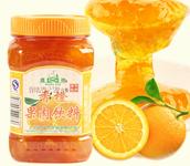 廣村蜂蜜花果茶 香橙茶 香橙果肉飲料濃漿 1KG