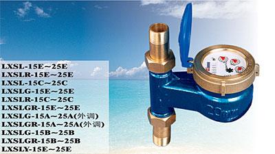 LXSL旋翼式立式水表