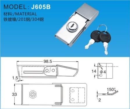 搭扣J605B-1J605