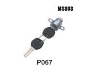 电柜门锁、配电箱锁、机箱机柜锁、圆柱锁MS803