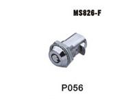 机箱机柜锁、电柜门锁、工业柜锁、配电箱锁、圆行弹子锁、MS826-F