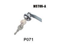 机箱机柜锁、电柜门锁、工业柜锁、配电箱锁、圆柱锁、MS705-A