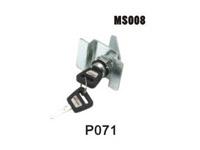 机箱机柜锁、电柜门锁、工业柜锁、配电箱锁、圆柱锁、MS008
