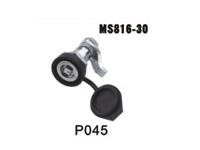 机箱机柜锁、电柜门锁、工业柜锁、配电箱锁、圆柱锁、MS816-30