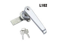 把手锁、长柄锁、机箱机柜锁、工业柜锁、配电柜锁、L102