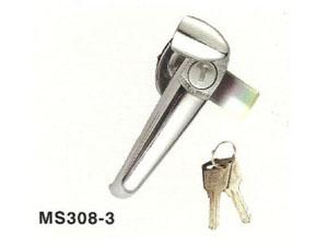 MS308-3把手锁机柜锁