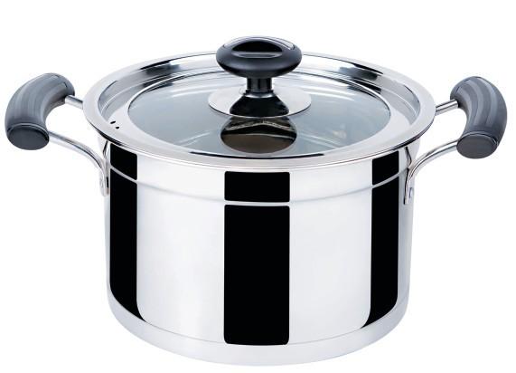 欧式复底汤锅