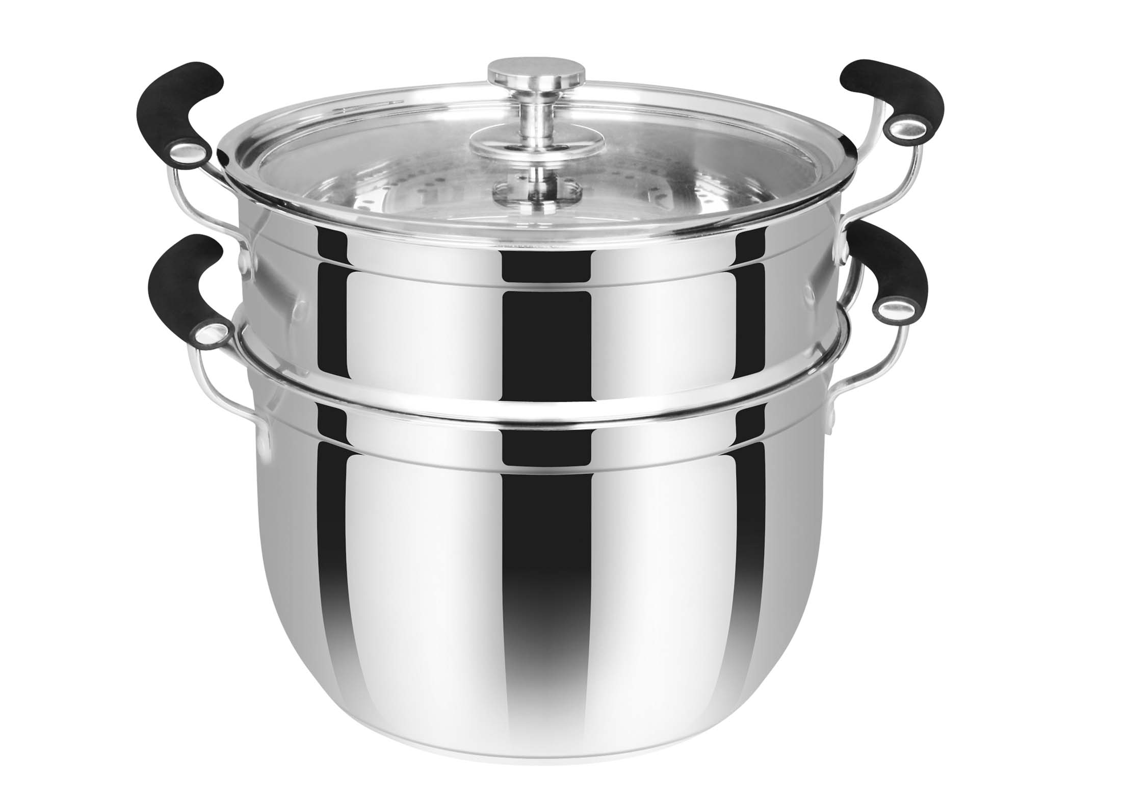 双层韩式蒸锅