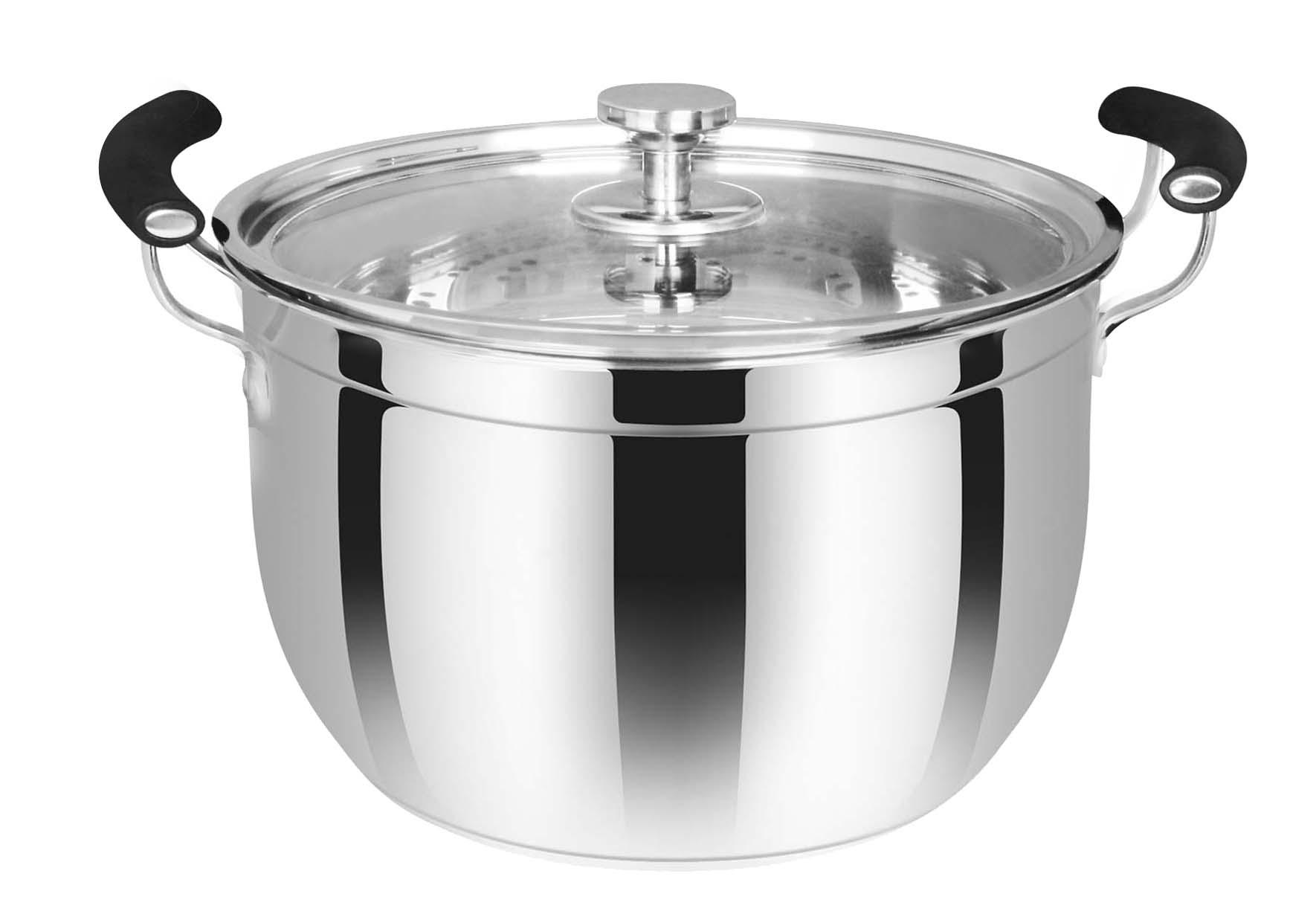 单层韩式蒸锅
