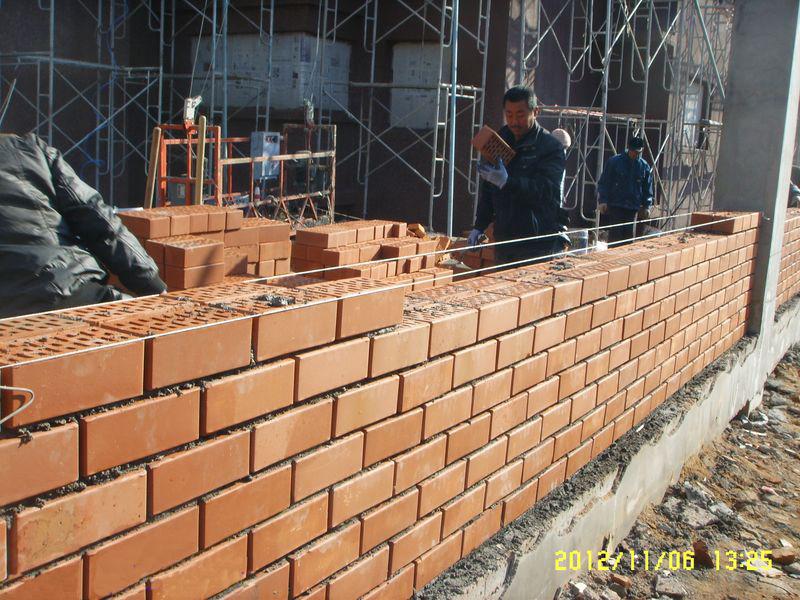 砌砖围墙的设计图