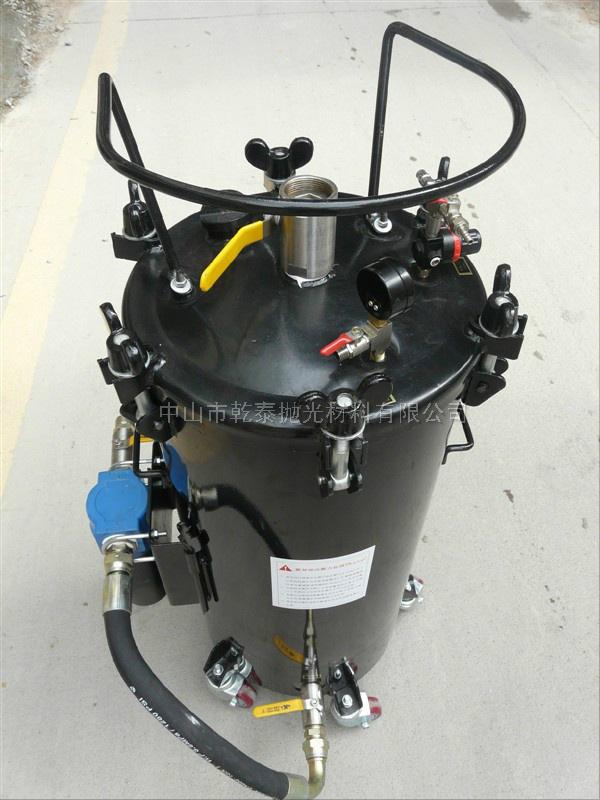 自动抛光机压力桶