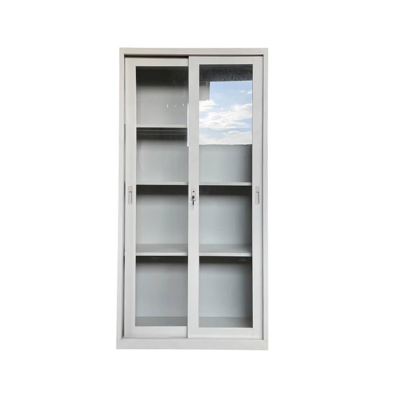 玻璃移門文件柜
