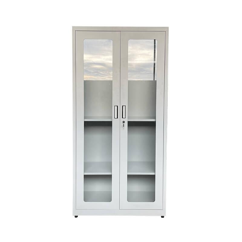 玻璃雙開門文件柜