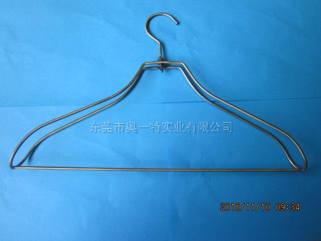 双线青古铜金属衣架