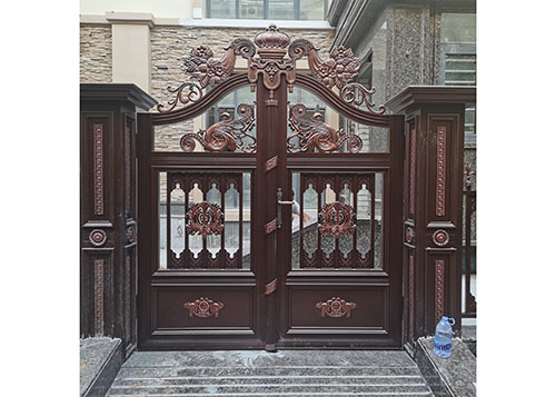 豪华铸铝庭院大门