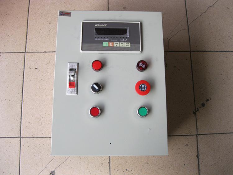 电箱简笔画-定量称重配料控制电箱