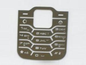 手机按键表面雕刻