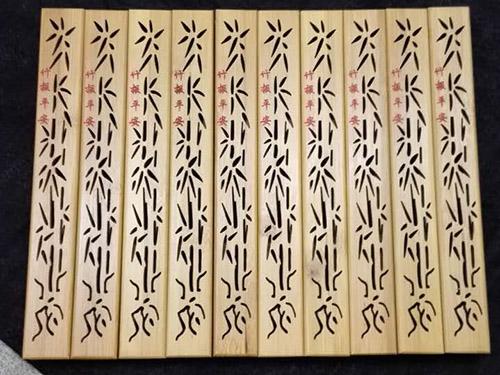 竹、木表面雕刻