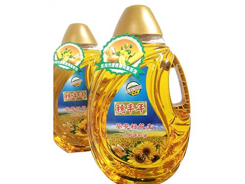 穗豐年葵花仔花生使用調和油