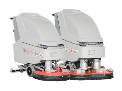 自走式洗地吸干機