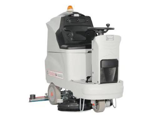駕駛式洗地吸干機