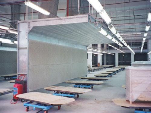 65涂装生产线阐述汽车喷漆烤漆过程|东莞市联兴机电