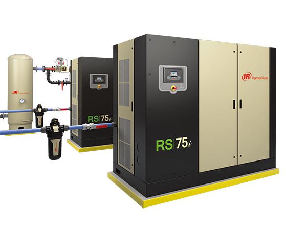 第二代R系列微油螺杆式空压机(45-75KW60-100hp)