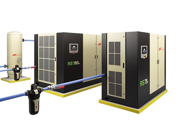 微油螺杆式压缩空气系统45-160kw(50-200hp),4.5-14barg(65-200psig)