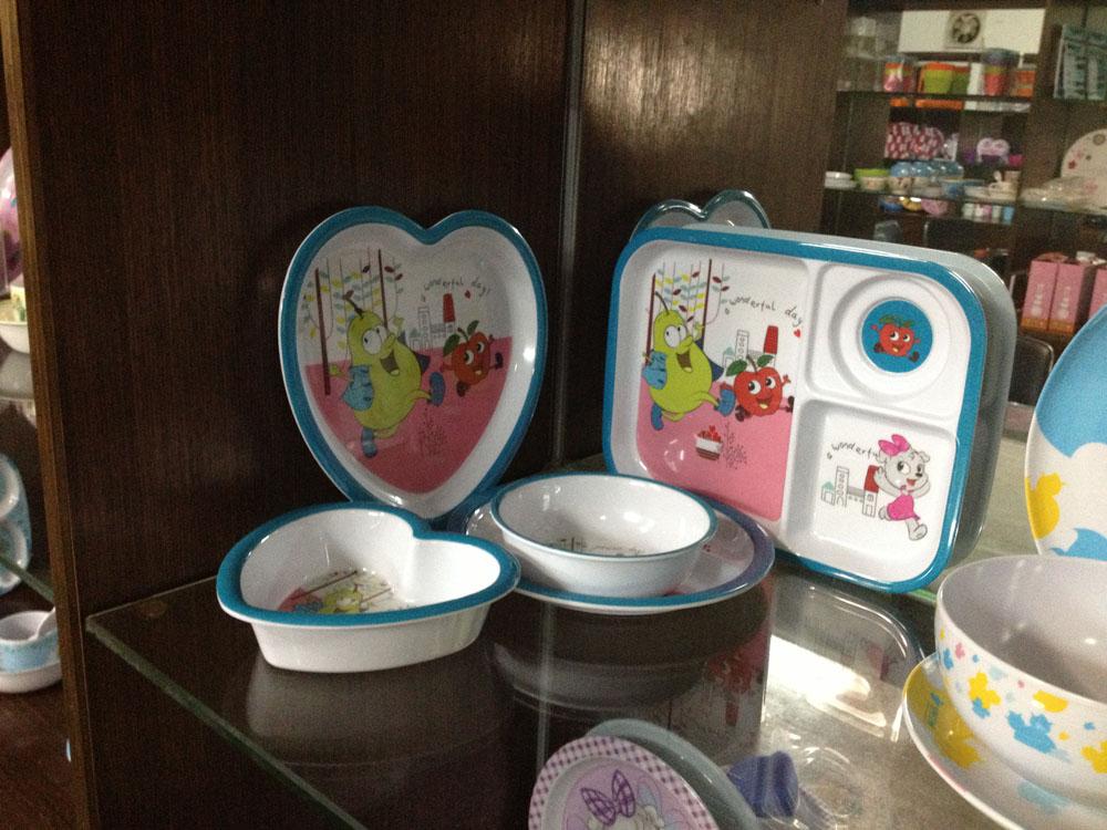 东莞伟林美耐皿儿童餐具