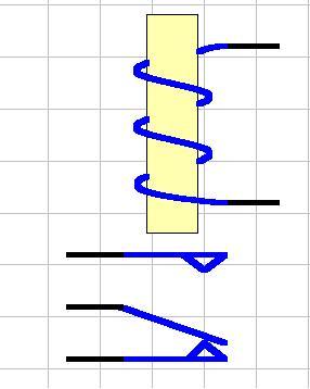 电磁继电器原理图