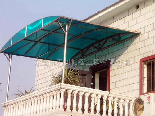 樟木頭陽光板遮陽篷