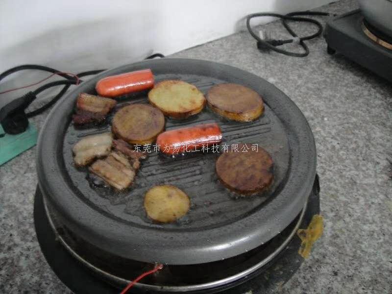 烧烤盘涂料食品级实测烤肉