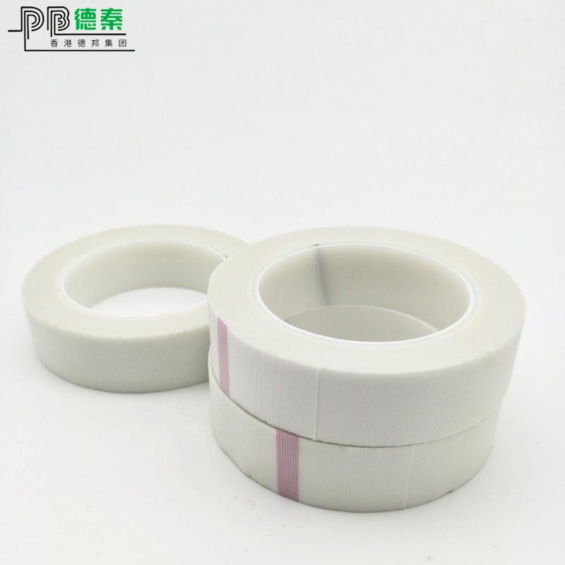 耐高溫玻璃布膠帶專業定做_德秦電子_變壓器_專用_含氟_雙面膠