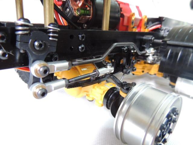 1:14拖頭轉向拉桿,1:14田宮轉向拉桿升級,靜點模型JDM-8A