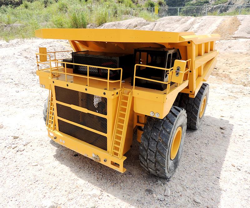 静点模型JDM-118F矿山车