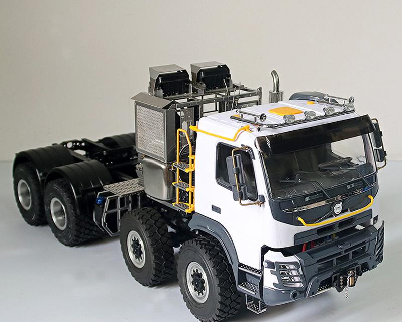JDM-136 1/14拖車8x8牽引拖頭