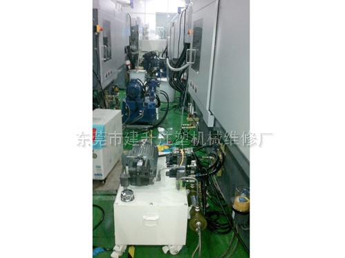电动注塑机专用抽芯工作站