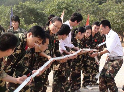东莞拓展培训项目:再接再励