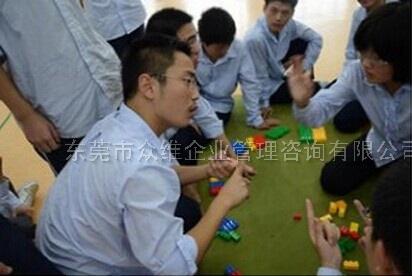 东莞拓展培训项目:哑人筑塔