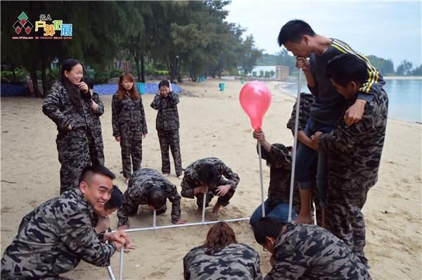 东莞户外项目:呼吸的力量