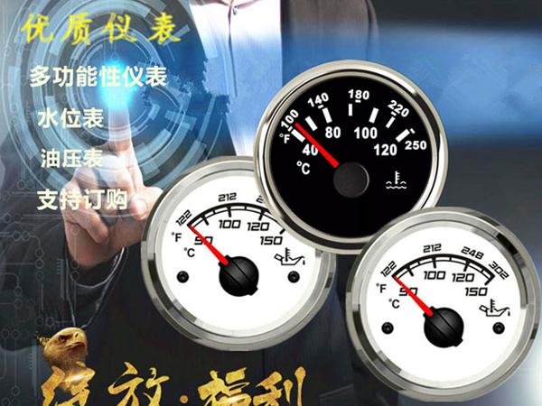 指针式油表