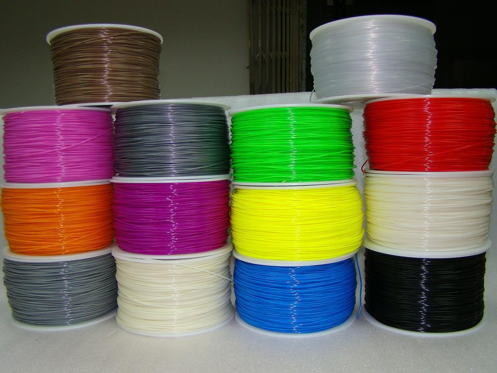 东莞德健直销3D打印机耗材/ABS塑料丝