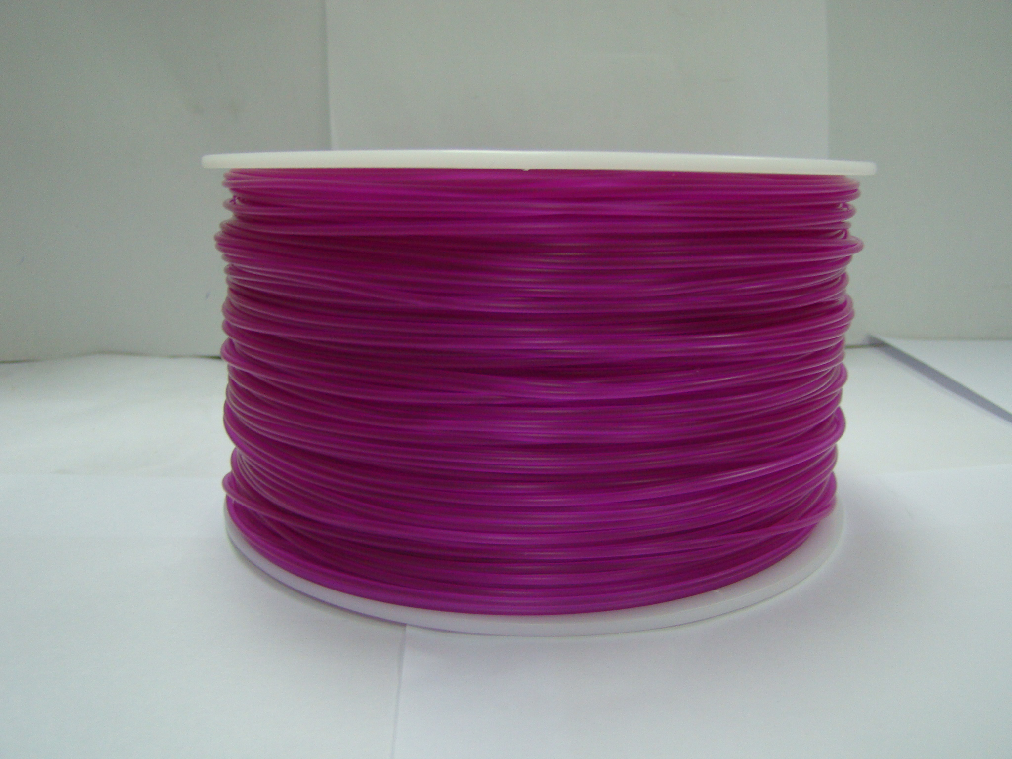 透明紫ABS打印耗材/3D打印耗材ABS/1.75/3.0/德健厂家生产耗材