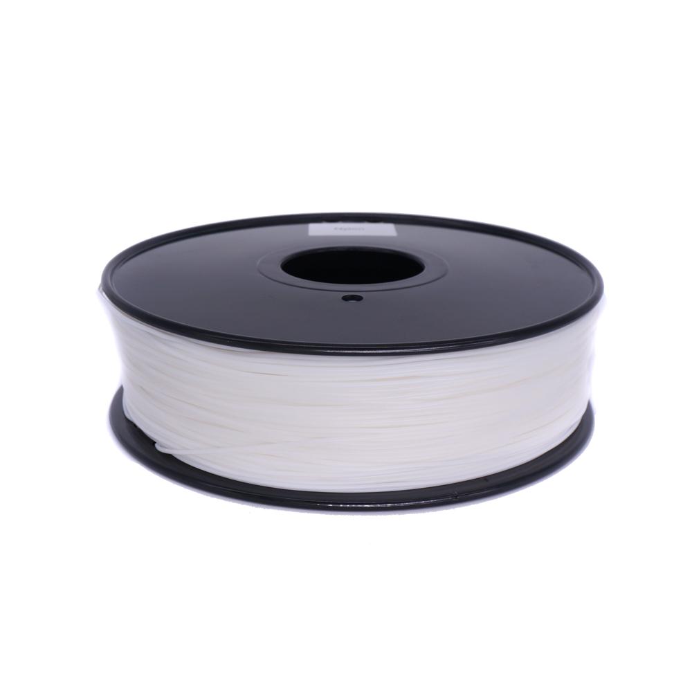 德建厂家直销 1.75/3mm3D尼龙(PA)白色打印耗材