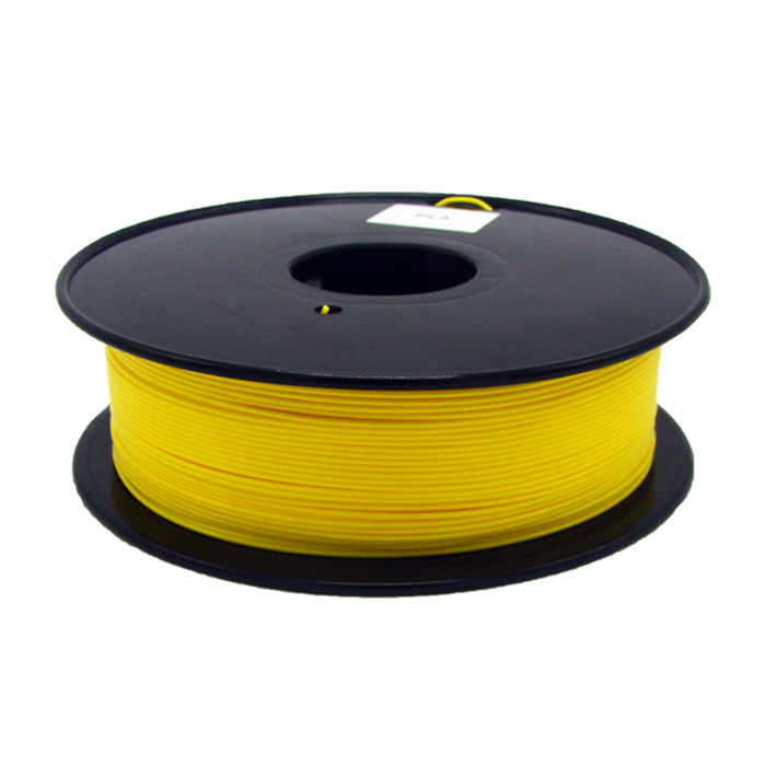深黃色107C PLA 3D打印耗材