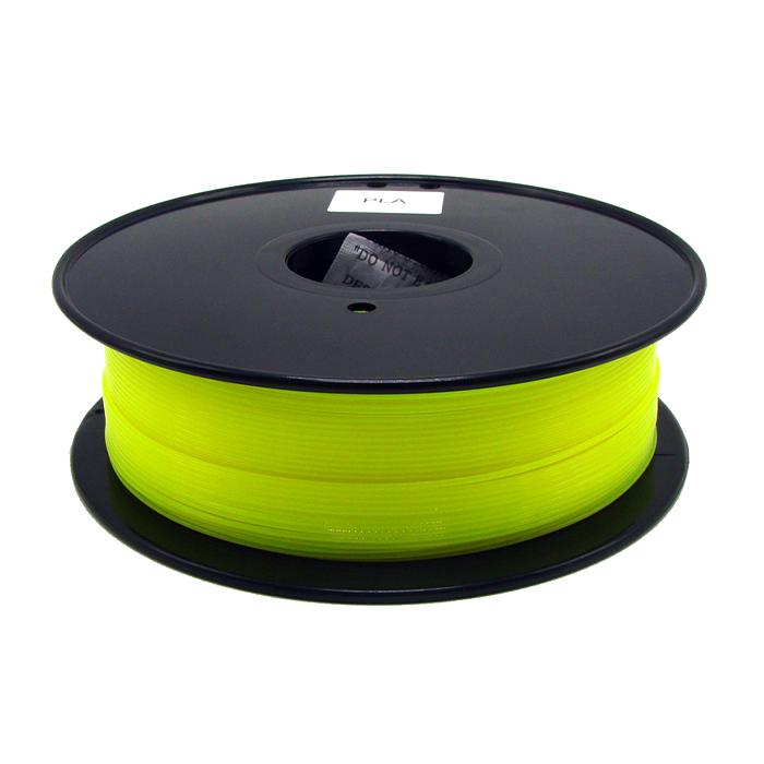 熒光黃PLA 3D打印耗材