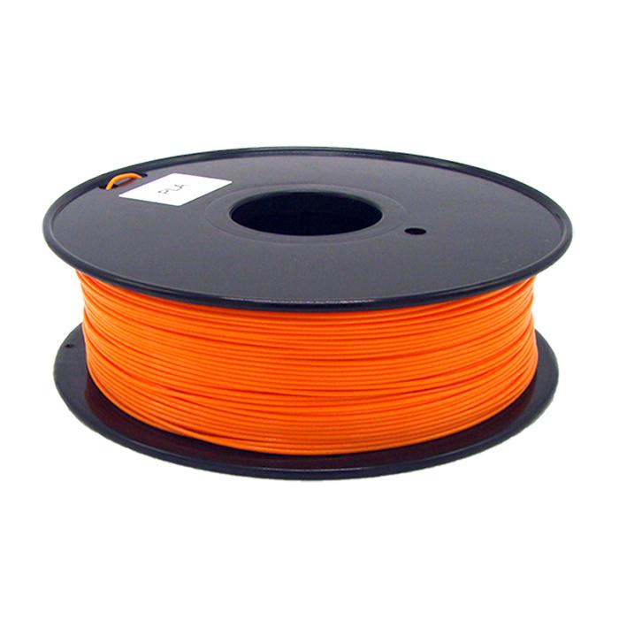 橘黃色PLA 3D打印耗材
