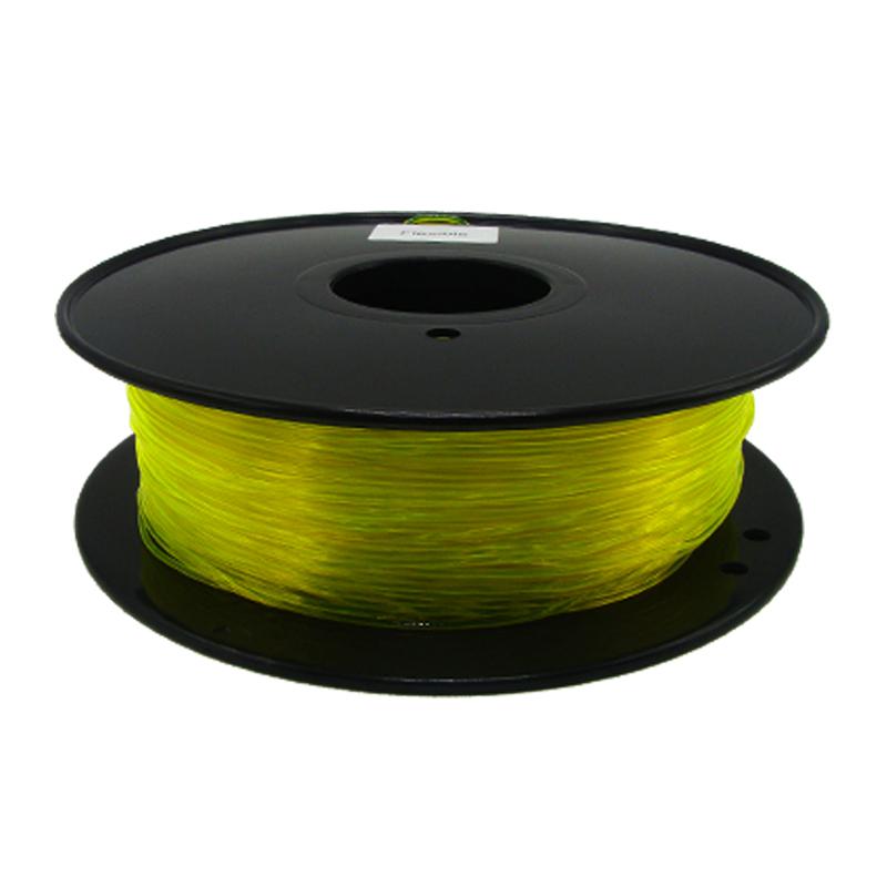 透明黃色TPU 3D打印耗材