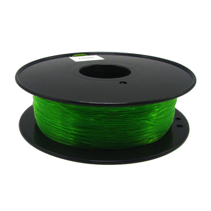 透明綠TPU 3D打印耗材